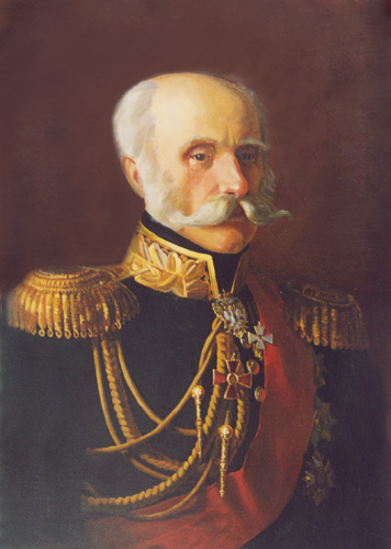 - Portrait of admiral F.P. Litke; oil painting: oil on canvas