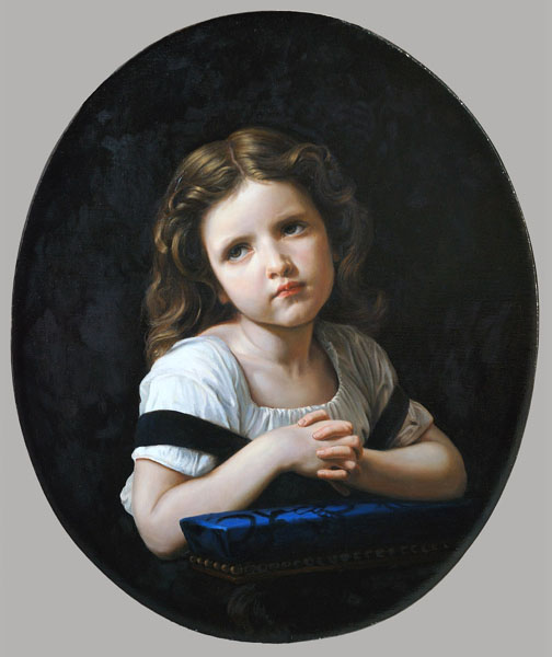 Dmitriy Sheglov - Replica of William-Adolphe Bouguereau